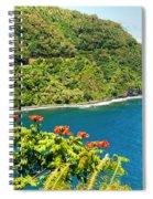 Honomanu The Hana Highway II Spiral Notebook