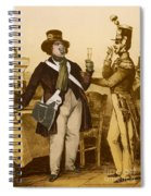 Honore De Balzac, French Author Spiral Notebook