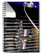 Hood Pinned Pony Spiral Notebook