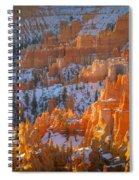 Hoodoo Light Spiral Notebook