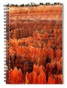 Hoodoos  At Sunrise Spiral Notebook