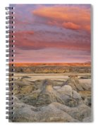 Hoodoos, Milk River Badlands, Writing Spiral Notebook