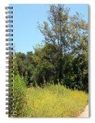 Hooker's Evening Primrose And Mustard Spiral Notebook