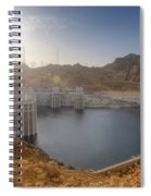 Hoover Dam Spiral Notebook