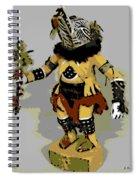 Hopi Dancer Spiral Notebook