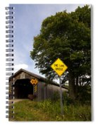 Hopkins Covered Bridge Spiral Notebook