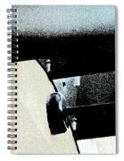 Horizontal Lights Spiral Notebook