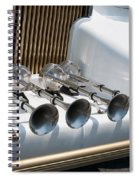 Hornz Spiral Notebook