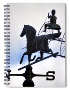 Horse And Buggy Weather Vane Spiral Notebook