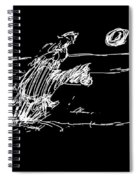 Horse And Rider Spiral Notebook