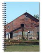 Horse Barn Spiral Notebook