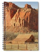 Horse Barn In Fruita Utah Spiral Notebook
