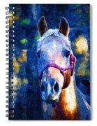 Horse Beautiful Spiral Notebook