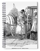 Horse Carriage, 1847 Spiral Notebook