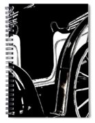 Horse Drawn Carriage Antique Spiral Notebook