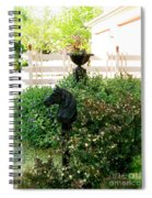 Horse Hitching Post 2 Spiral Notebook