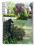 Horse Hitching Post 3 Spiral Notebook