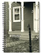 Horse Hitching Post Spiral Notebook