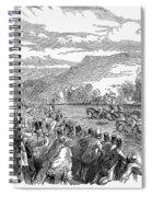 Horse Racing, 1850 Spiral Notebook