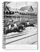 Horse Racing, 1889 Spiral Notebook
