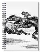 Horse Racing, 1900 Spiral Notebook