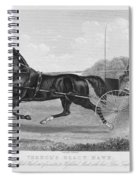 Horse Racing, C1850 Spiral Notebook