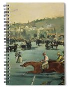 Horse Racing Spiral Notebook