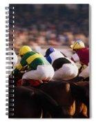 Horse Racing, Phoenix Park, Dublin Spiral Notebook