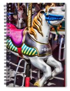Horse Ride Spiral Notebook