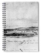 Horse Slaughter Camp 1858 Spiral Notebook