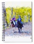 Horseback Riding  Spiral Notebook