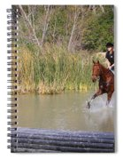 Horses Dont Like Water Spiral Notebook