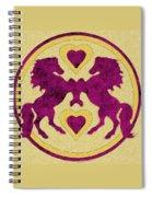 Horses Love Dance Spiral Notebook