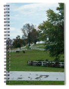 Horses On The Farm 1 Spiral Notebook