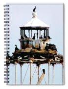 Horseshoe Reef Lighthouse Spiral Notebook