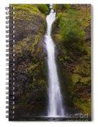 Horsetail Falls Oregon Spiral Notebook