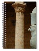Horus Temple Of Edfu Egypt Spiral Notebook