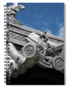 Horyu-ji Temple Roof Gargoyles - Nara Japan Spiral Notebook