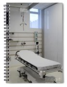Hospital Gurney Spiral Notebook
