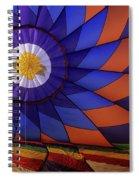 Hot Air Balloon 13 Spiral Notebook