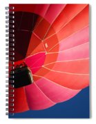 Hot Air Balloon 4 Spiral Notebook