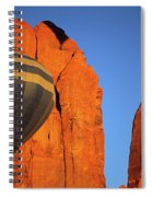 Hot Air Balloon Monument Valley 1 Spiral Notebook