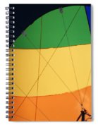 Hot Air Balloon Rigging Spiral Notebook