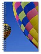 Hot Air Balloons Spiral Notebook