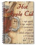 Hot Apple Cider Spiral Notebook