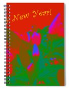 Hot As A Pepper New Year Greeting Card Spiral Notebook