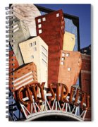 Hot City Streets Spiral Notebook