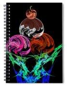 Hot Fudge Sundae Spiral Notebook