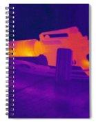 Hot Rifle Spiral Notebook