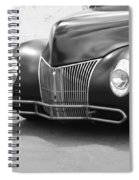 Hot Rod Front End Spiral Notebook